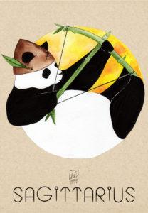 Panda Sagittarius