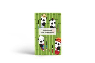 Culture Panda Notebook - Cover