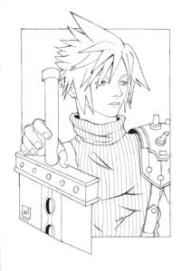 Cloud Strife Fanart